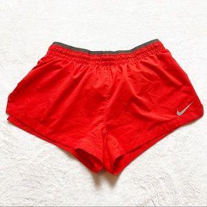 Nike Dri-fit Running Shorts Red XS